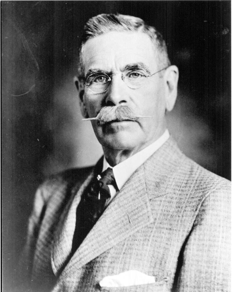 "Albert E. Gooderham (1881-1935) was a financier and philanthropist and succeeded his father to run the Gooderham & Worts Distillery firm in Toronto, the legacy of which exists today in the city's downtown ""Distillery District""."