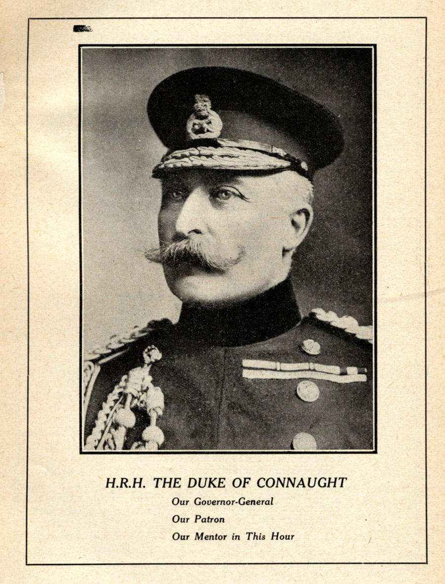 Prince Arthur, the Duke of Connaught, also served as the patron of the Canadian Public Health Association, which was established in 1910 and held its first national meeting in December 1911.
