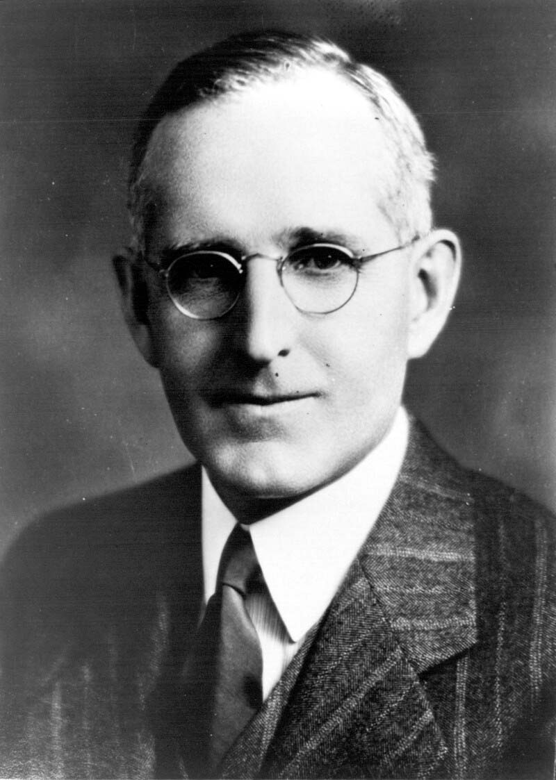 Dr. John G. FitzGerald portrait taken in the late 1930s.