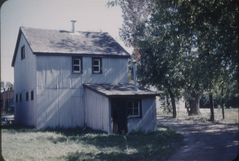 The rebuilt Barton Avenue Stable in the 1940s; it was also known as Building 25 and stood next to the red brick stables, Buildings 22 and 23, until it was moved to another part of the site in 1966. In 2001, the Barton Avenue Stable moved to the front of the Connaught Campus site and in 2004 was finally restored as a museum.