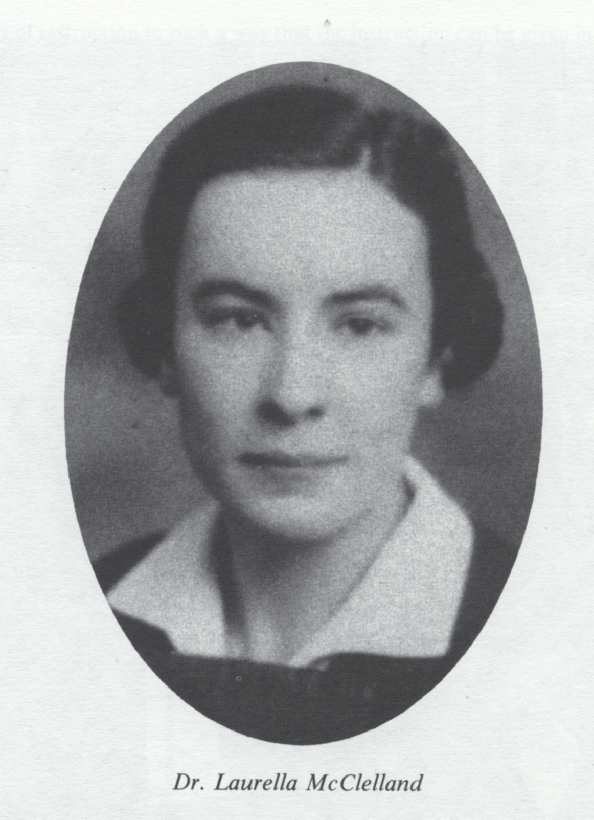 Dr. Laurella McClelland was a graduate of the U of T Faculty of Medicine in 1938 and joined Connaught in 1941 as a senior researcher based at the Labs' Farm site, playing a major role in typhus and influenza vaccine production.