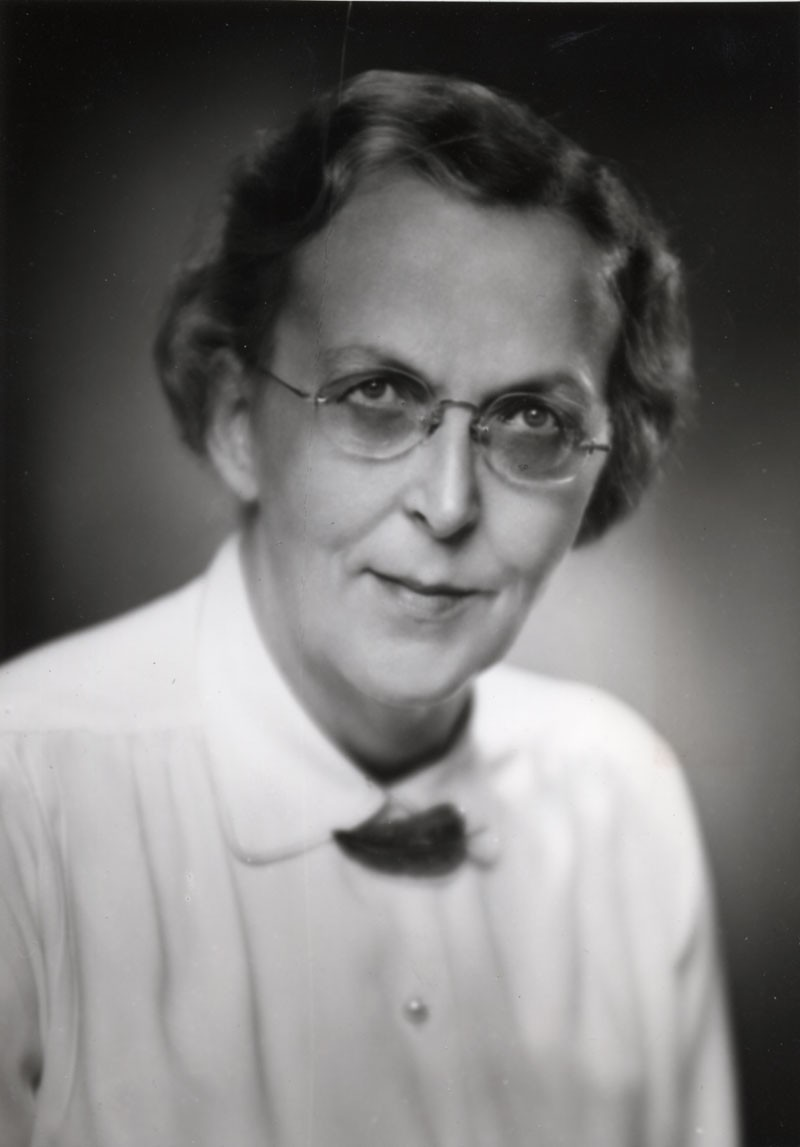 Dr. Edith Marjory Taylor was born in 1899 and played a major role in the development and production of several important products at Connaught Laboratories from the mid-1920s through the early 1960s. She also held the rare distinction of a Canadian woman earning a Ph.D. in the sciences, which she received in 1924 in Chemistry from the University of Toronto just prior to joining the Labs.