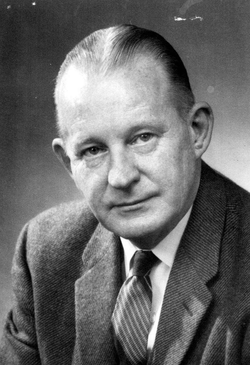 Dr. Robert James Wilson (1915-1989) was born in Edmonton and began his long career at Connaught in 1935. He was an expert on bacterial vaccines development and, played a major role in Connaught's contributions to the global smallpox eradication initiative during the late 1960s and early 1970s.